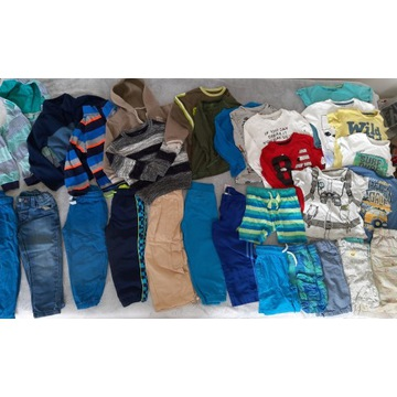PAKA Zestaw bluz spodni 30szt 104 4 lata Smyk C&A