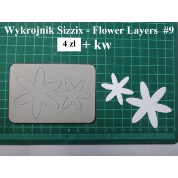 WYKROJNIK - Flower Layers - Sizzix