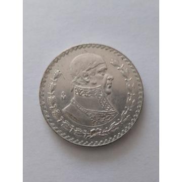 Moneta obiegowa 1 peso Meksyk