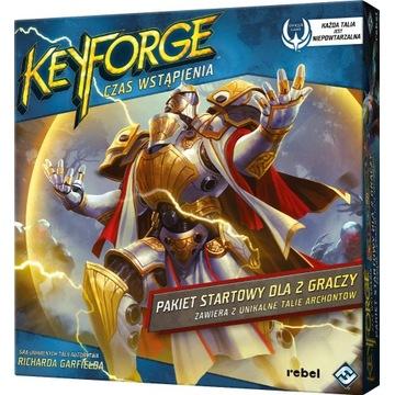 KeyForge Czas Wstąpienia Pakiet startowy,FOLIA