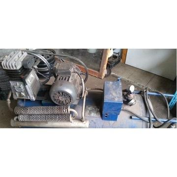 Kompresor tłokowy 180 Litrów