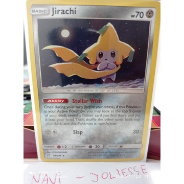 Jirachi Stellar Wish Holo 99/181 M/Nm Team Up