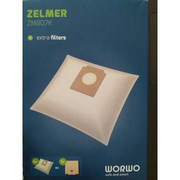 WORWO 8 szt. worków do odkurzacza Zelmer i innych