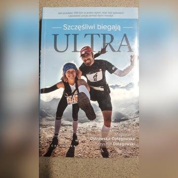 Książka -szczęśliwi biegają ultra