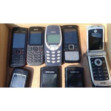 Stare telefony komórkowe zestaw