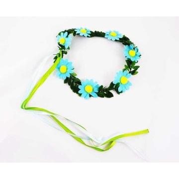 Wianek kwiatowy Niebieski