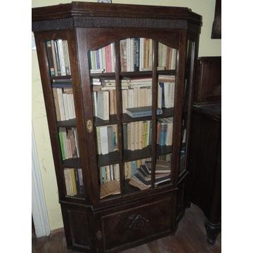Dębowe kredensy biblioteczne