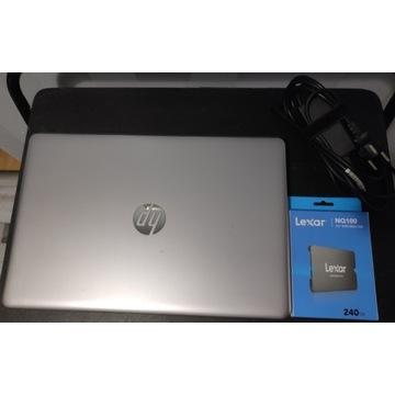 Laptop HP 250 G6 core i3 /8GB RAM/240 GB POLECAM !
