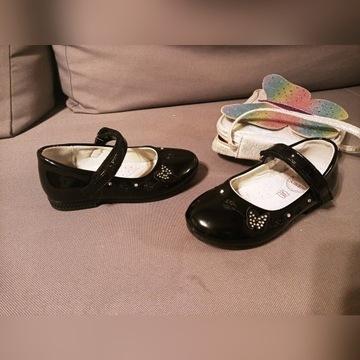 Buty lakierki eleganckie ladne dla dziewczynki 26