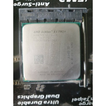 Amd athlon x4 870k + płyta główna  + radiator