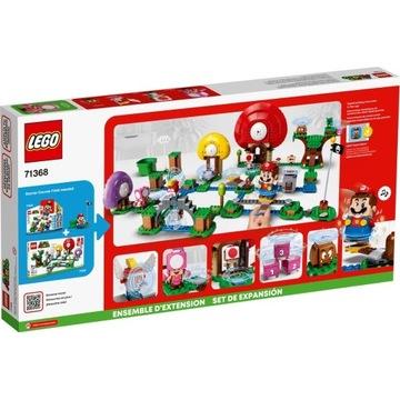 NOWE Lego Super Mario Toad szuka skarbu 71368