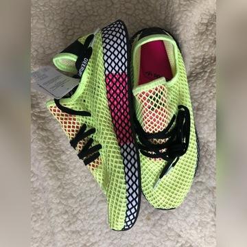 Adidas Deerupt Runner Męskie Sneaker Żółte 44 2/3