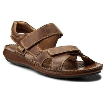 NOWE Pikolinos sandały skórzane męskie R42