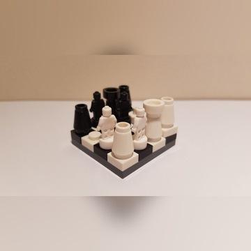 Lego miniszachy nanofigurki statuetka