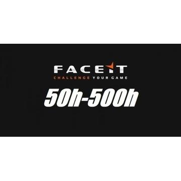 KONTO STEAM CS:GO 50-500 GODZIN | FACEIT |