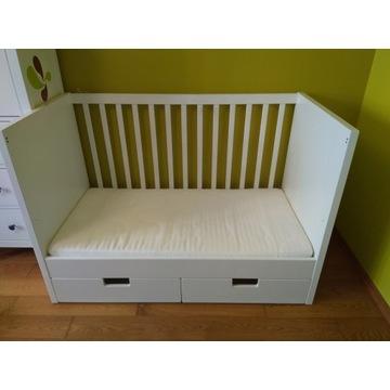 Łóżeczko IKEA STUVA z szufladami + materac gratis