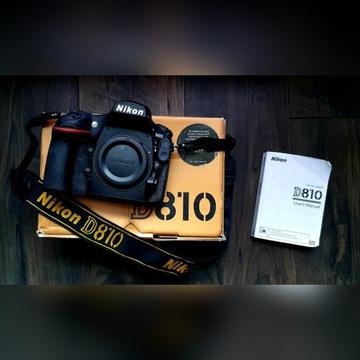 Nikon D810 Lustrzanka Body  26 000 zdj.