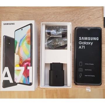 Samsung Galaxy A71 6GB/128GB ! Czarny  nowy !