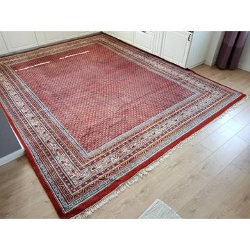 Piękny Indyjski ręcznie tkany wełniany dywan.