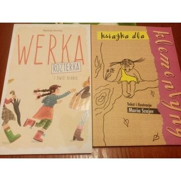 Książka dla Klementyny Werka rozterka dwie nianie