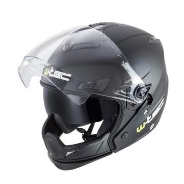 Kask W-TEC NK-850 XXL Black shine