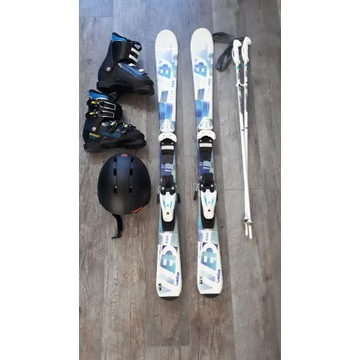 Zestaw narciarski WEDZE dla chłopca 6-8 lat