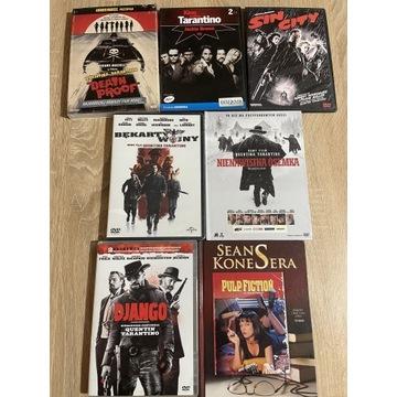 Kolekcja 7 filmów Quentina Tarantino na DVD