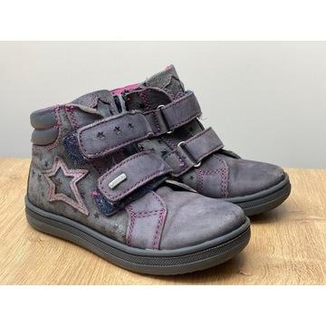 Buty dziewczęce Lasocki r. 25, skórzane, ocieplane