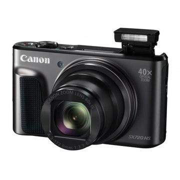 Canon SX720 ZOOM 40x Zoom 60fps NFC WiFi +etui