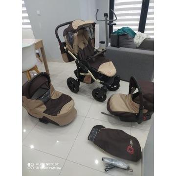 Okazja! 3w1 Wózek dziecięcy LIBRA Happych 3w1