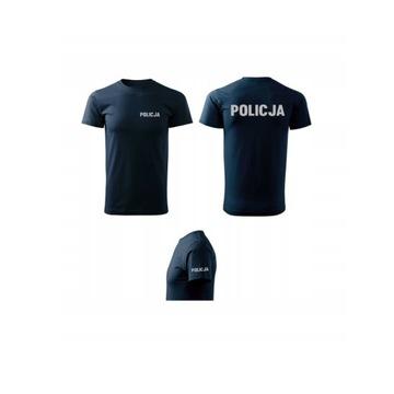 Koszulka Tshirt Policja Policyjna POLICJA -OKAZJA!