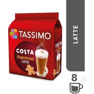 Tassimo Costa Piernik Latte Kapsułki 8szt UK