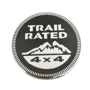 JEEP TRAIL RATED 4X4 EMBLEMAT
