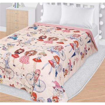 Narzuta na łóżko My Best Friend 145x200cm pled