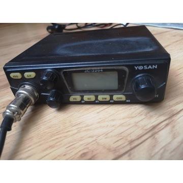 CB Radio YOSAN JC-2204 +antena +gruszka
