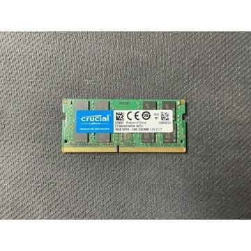 Crucial 16 GB SODIMM DDR4 2400MHz CL17 1.2V