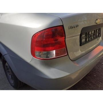 lampa lewa tył Chevrolet Aveo