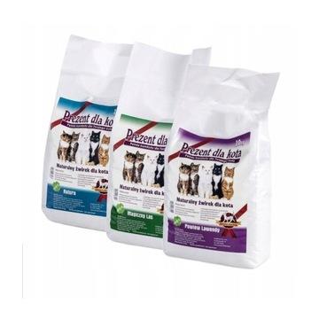 Żwirek Prezent dla Kota 3 x 10 kg darmowa dostawa