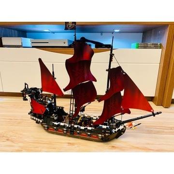 Klocki Statek Piraci z Karibów Zemsta Anny