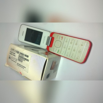 alcatel 2010x  biały czerwony