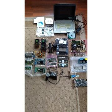 Na sprzedaż zestaw części komputerowych+laptop