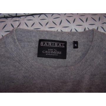 Barisal Sweter XL kaszmir j.szary  bz opakow