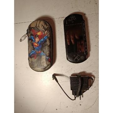 Konsola PSP E1004 sprawna karta 8GB gry