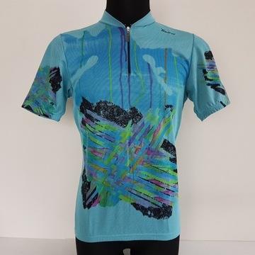 Santini koszulka rowerowa retro nowa XL