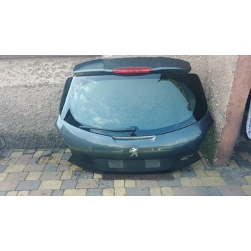 Klapa bagażnika Peugeot 208 szara KTPD idealna