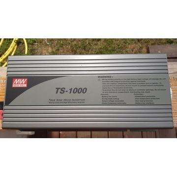 Przetwornica TS-1000-212B 1000W True sinus 12/230V