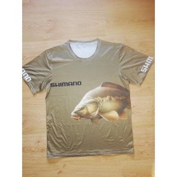 SHIMANO koszulka dla karpiarza