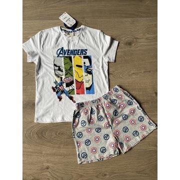 Zara Avengers piżama 130 cm 128/134 8-9 NOWA