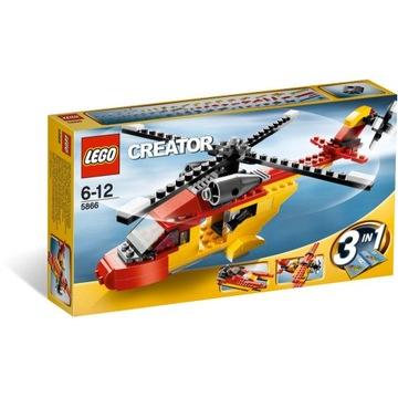 LEGO CREATOR 5866 HELIKOPTER RATUNKOWY z 2010r.
