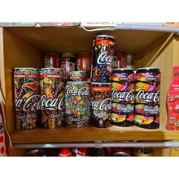 Puszka coca cola Woodstock Pol And Rock